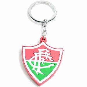 Chaveiro De Borracha Com Brasão De Time - Fluminense