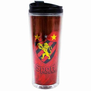 Copo Com Tampa 600ml - Sport Club