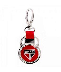 Chaveiro Com Enfeite De Metal - SPFC