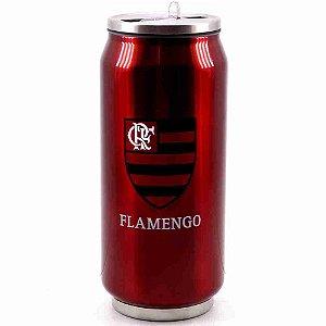 Copo De Inox Com Canudo 350ml - Flamengo