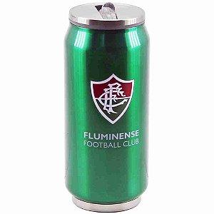 Copo De Inox Com Canudo 350ml - Fluminense