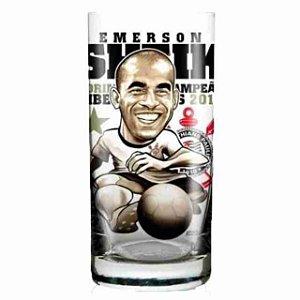 Kit C/ 2 Copos Emerson Sheik - Corinthians Campeão Da Taça Libertadores