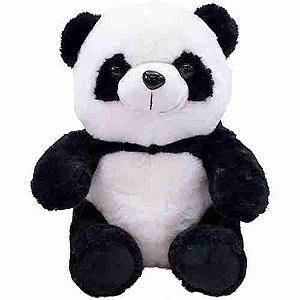 Urso Panda Sentado 27cm - Pelúcia