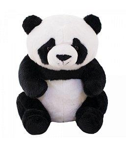 Urso Panda Sentado 25cm - Pelúcia