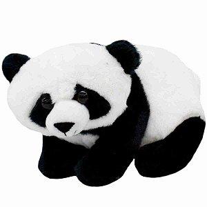 Urso Panda Sentado 18cm - Pelúcia