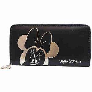 Carteira Minnie Retangular - Disney