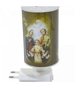 Luminária Abajur Sagrada Família