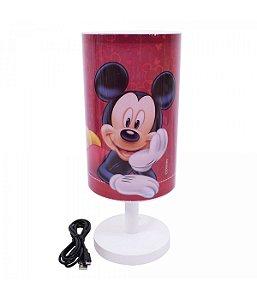 Luminária Abajur Mickey - Disney