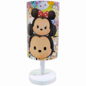 Luminária Abajur Mickey & Minnie Tsum Tsum - Disney