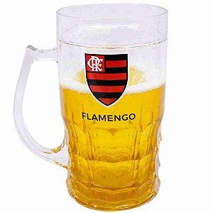 Caneca Cerveja 600ml - Flamengo