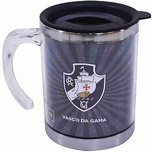 Caneca Térmica Com Tampa 450ml - Vasco RJ