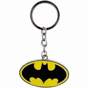Chaveiro Metal Símbolo Batman - Liga Da Justiça