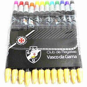 Jogo Com 12 Lapiseiras De Cor - Vasco