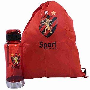 Garrafa 650ml Mochila Tipo Saco - Sport Club