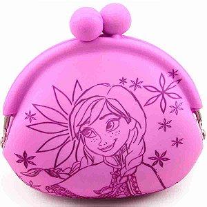 Chaveiro Porta Moeda Anna Rosa Lilás Frozen - Disney