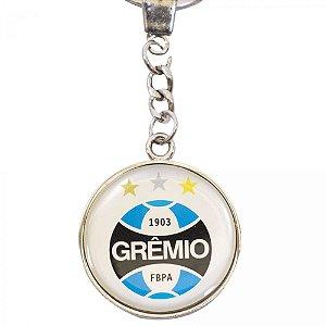 Chaveiro De Metal Com Brasão De Time - Grêmio