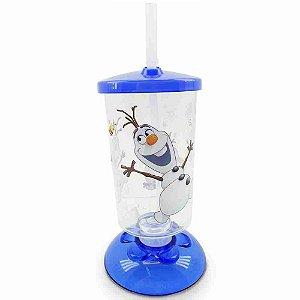 Copo Articulado Com Canudo Olaf Frozen 250ml - Disney