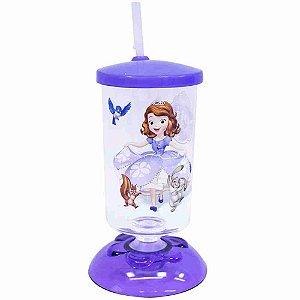 Copo Articulado Com Canudo Princesinha Sofia 250ml - Disney