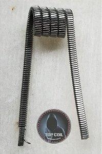 resistência FUSED CLAPTON ~0.45 Ω  ( NI80 ou A1 ) 4 unid.