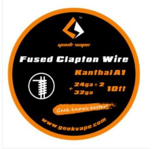 rolo fio Geek vape Fused Clapton wire (24ga*2+32ga*3m) KA1
