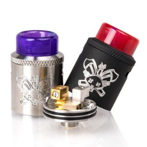 HELLVAPE Dead Rabbit SQ RDA - single coil - Preto