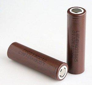 bateria LG IMR 18650  HG2  20A 3000mAh 2 unid.