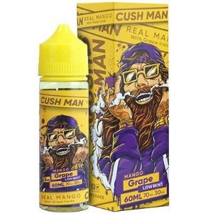 JUICE  NASTY CUSH MAN MANGO GRAPE 60 ML