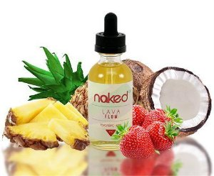 JUICE NAKED 100 LAVA FLOW ICE 60 ML