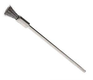 escova metal para coil ( cabo longo)