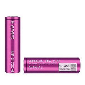 Bateria efest 21700 4000mha 30A