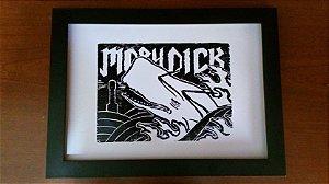 Xilogravura - Moby Dick