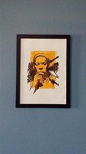 Xilogravura - John Coltrane