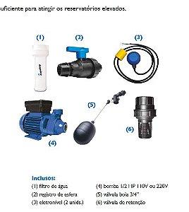 Kit Captção Água Rede Pública