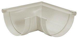 Esquadro Interno Em PVC Para Calha