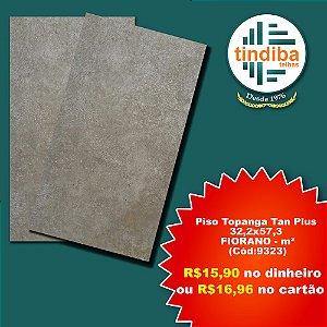 Piso Topanga Tan Plus - FIORANO -  m² - 32,2x57,3cm ( Cód: 9323)