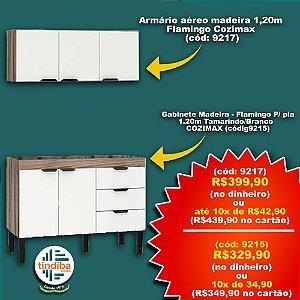 Gabinete(cód: 9125) + Armário aéreo(cód:9127)