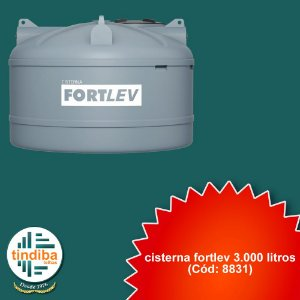 Cisterna Fortlev 3.000L Acqualimp (Cód: 8831)