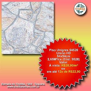 Piso Unigres Urano HD 54x54cm - 54520 - caixa c/ 2,65m² (Cód: 9528)