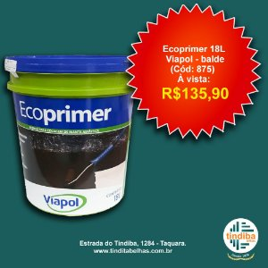 Ecoprimer Viapol Balde 18L (Cód: 875)