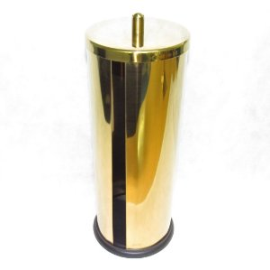 Porta Papel Higiênico em Inox – Dourado By Fineza
