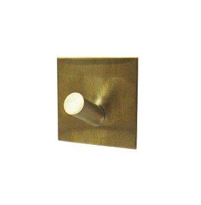 Gancho Dourado em Aço Inox com fixação na parede - By Fineza