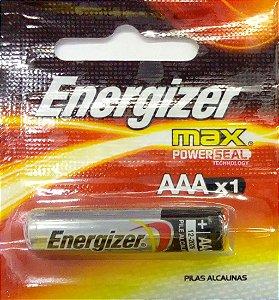 Pilha Energizer Max AAAx1 - Palito - Alcalina