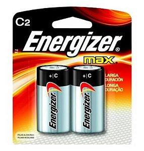 Pilha Energizer Max C2 - Md - Alcalina