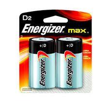 Pilha Energizer Max D2 - Gd - Alcalina