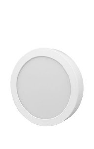 FLC - Painel Led Sobrepor Redonda - 24W - 6500K - 1250Lm - Diametro 294mm