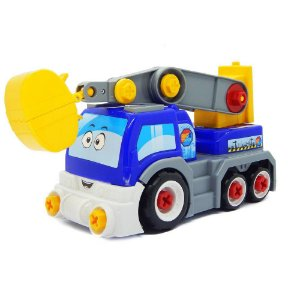 Carrinho Big X Truck Azul Desmonta Promoção ::só Hoje::
