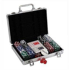 Maleta de Poker 200 Fichas Pk-200 Western