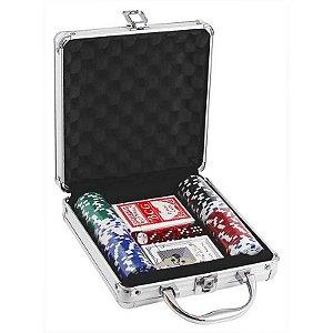 Maleta de Poker 100 Fichas Pk-150 Western