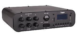 Amplificador de áudio NCA com função Rádio FM e Bluetooth - SA20