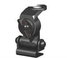 Peças e acessórios Lanchas Focker - Suporte Articulado Para Antena VHF Marine Star - Preto